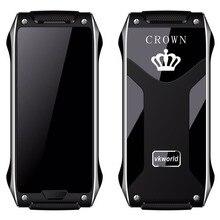 Новые vkworld Корона V8 Термальность сенсорный телефон самый тонкий в мире 4.9 мм мобильного телефона самовосстановления снаружи самостоятельно Learing ИК-бластер