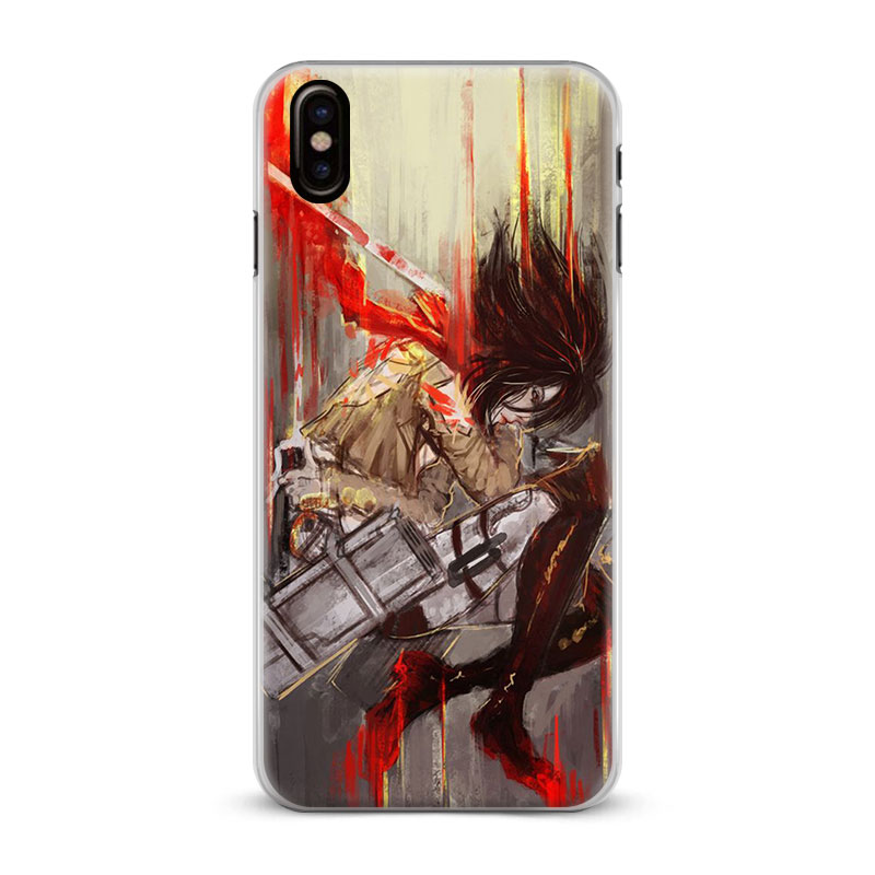 USA Seller Apple iPhone  5 5s SE  Anime Phone case Cool Attack on Titan
