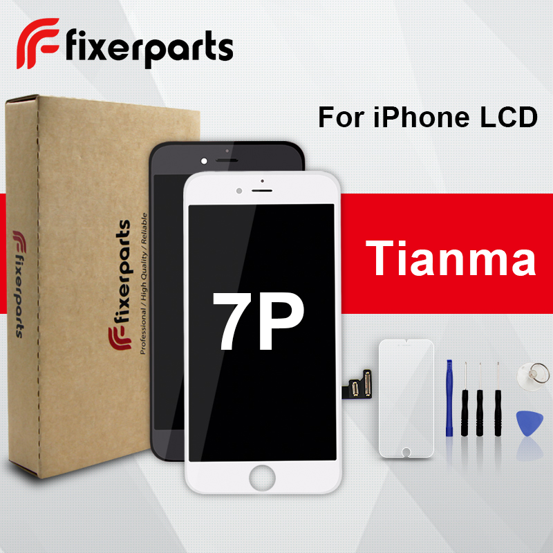 LCD Display Touch-Screen Tianma Full-Assembly iPhone Digitizer Replacement 1pcs for 7P