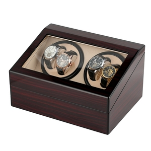 Image 4 - 6+4 Automatic Watch Winders Open Motor Luxury Watch Winding Winder Storage Watch Case Holder Collection Display Silent Motor Box