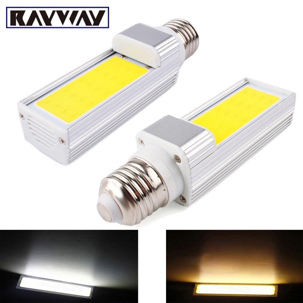 Новый супер яркий лампада УДАРА E27 <font><b>g24</b></font> Светодиодная лампа 7 Вт 9 Вт 12 Вт Светодиодный прожектор AC85-265V <font><b>LED</b></font> горизонтальный plug свет лампы Bombillas