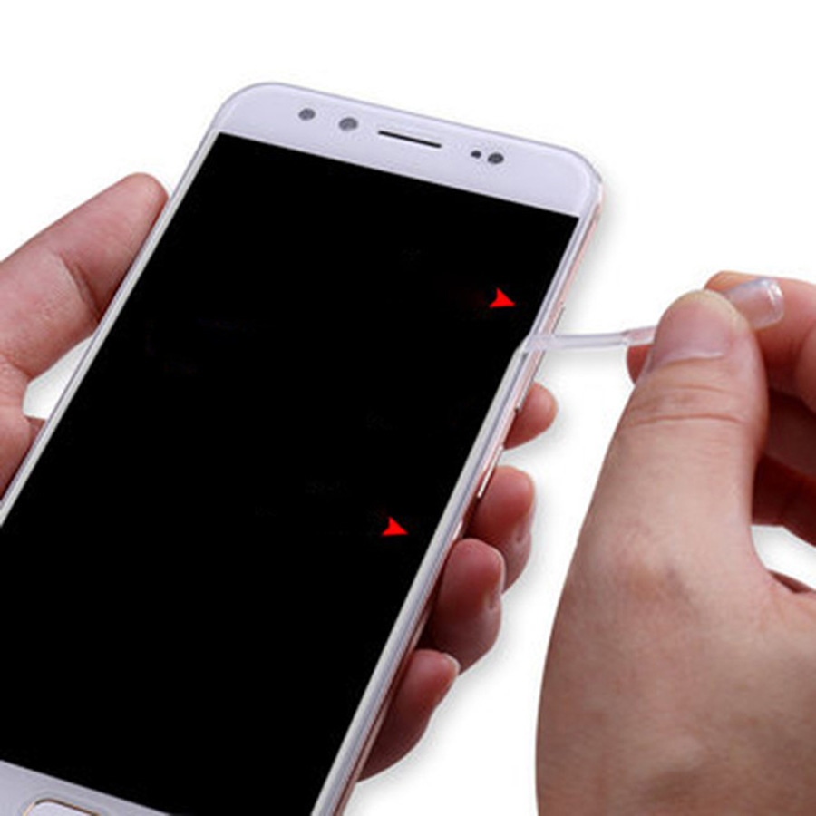 9H Tempered Glass Screen Protector White Edge Revising Liquid Border  Eliminate Remove Clear Liquid For All Universal Smartphone