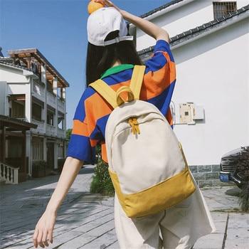 Preppy Style Backpack Fashion Girls Canvas Bags Travel Rucksack School Bag For Teenage Girls Sac A Dos Mochila fashion women pu leather backpack bag preppy girl ladies school bags for teenagers rucksack sac a dos femme mochila escolar 2017