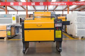Image 1 - משלוח חינם 50w 4060 co2 לייזר חריטת מכונת, 220 v/100 v לייזר מכונת חיתוך CNC, תצורה גבוהה לייזר חרט