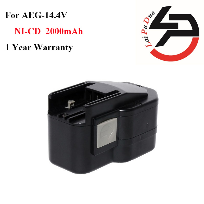 New 2000mAh 14.4V Ni-CD Replacement Power Tool Battery for AEG:AEG BBM 14 STX,BBS 14 KX RAPTOR,BBS 14 X RAPTOR