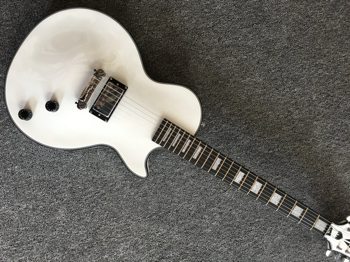 China Guitar Factory,Best Price new LP Custom Shop white Electric Guitar one pickup in stock all color can make china oem firehawk guitar wholesale custom shop sg electric guitar active pick up any color can be changed