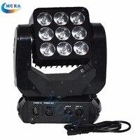 2PCS/lot 9x10W Cree RGBW 4in1 Full color LED Dmx Led Stage Lighting Matrix Moving Head Light