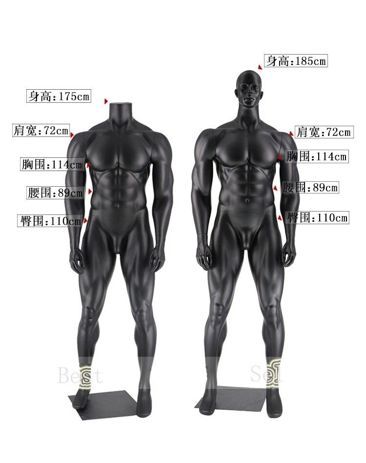 Mode meilleur qualité hommes Muscle Mannequin Photo prenant des vêtements modèle nouveauté
