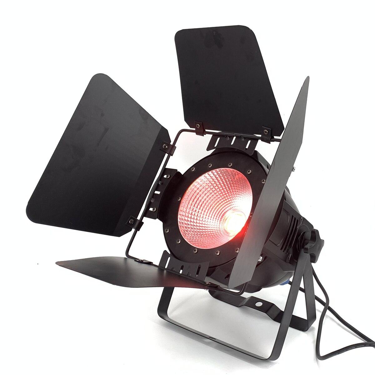 200W COB luz par led con puertas de Granero RGBWA lavado UV 6in 1/RGBW 4in 1/RGB 3in 1/blanco cálido Par64 de lavado led luz para escenario DJ Dmx control Foco led portátil, recargable, batería 18650, luz de búsqueda para exteriores, Lámpara de trabajo para caza, Camping, linterna led COB