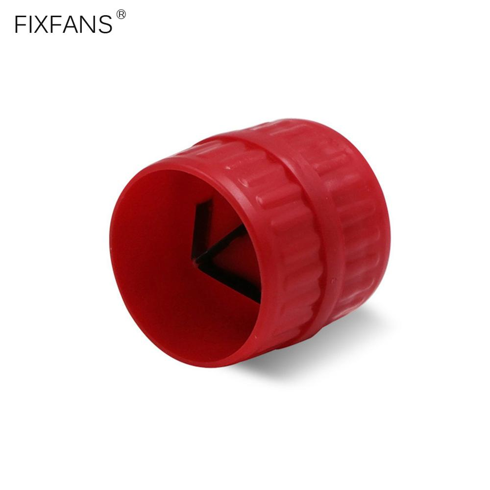FIXFANS Mini Pipe Reamer Cutter Inner Outer PVC Copper Tube Deburring Plumbing Reamer Remove Burrs Hand Tools