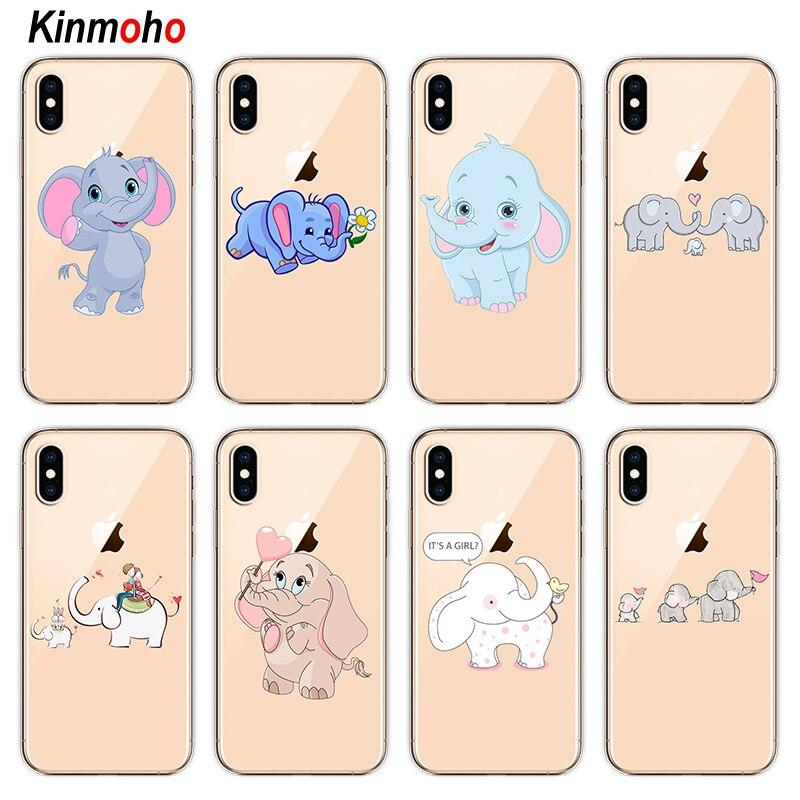 cover iphone 8 elefante
