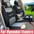 Custom car seat covers for hyundai elantra seat cover parts inner accessories sets sandwich car covers for car seats with logo