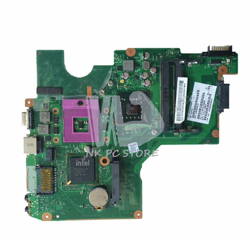 V000258030 Main board For Toshiba Satellite C605 Notebook PC Motherboard DDR2 Free CPU 6050A2446201-MB-A02