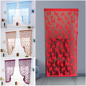 Tulle Curtains Butterfly 3d Pr