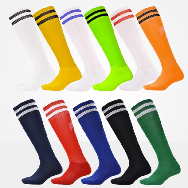 2017 Football Socks Soccer Socks Mens Kids Boys Sports Durable Long Cycling Socks Thickening Sox medias de futbol