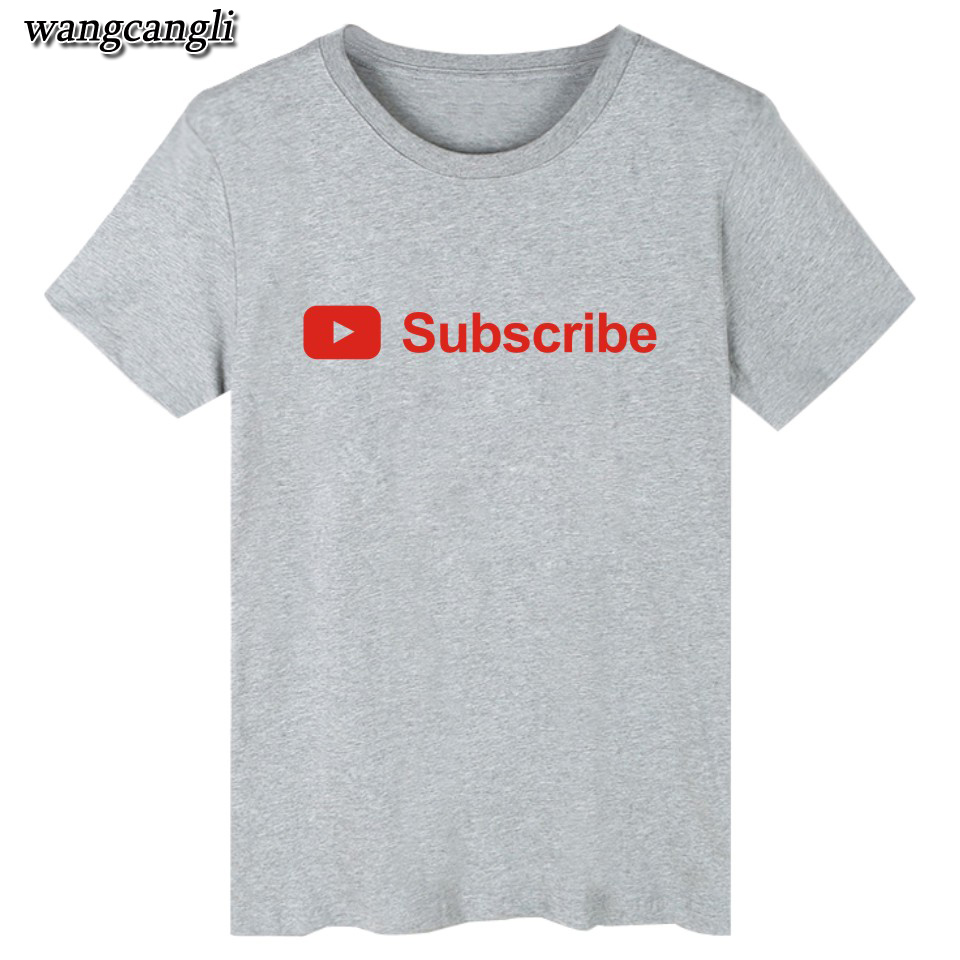 17 best friends t shirt harajuku Youtube Logo Printed tshirts cotton women with 4XL You Tube T-shirts for women Tee Shirt 10