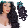 7A Grade Malaysian Virgin Hair Body Wave 3 Bundles  Malaysian Body Wave Human Hair Malaysian virgin hair Malaysian Virgin Hair B