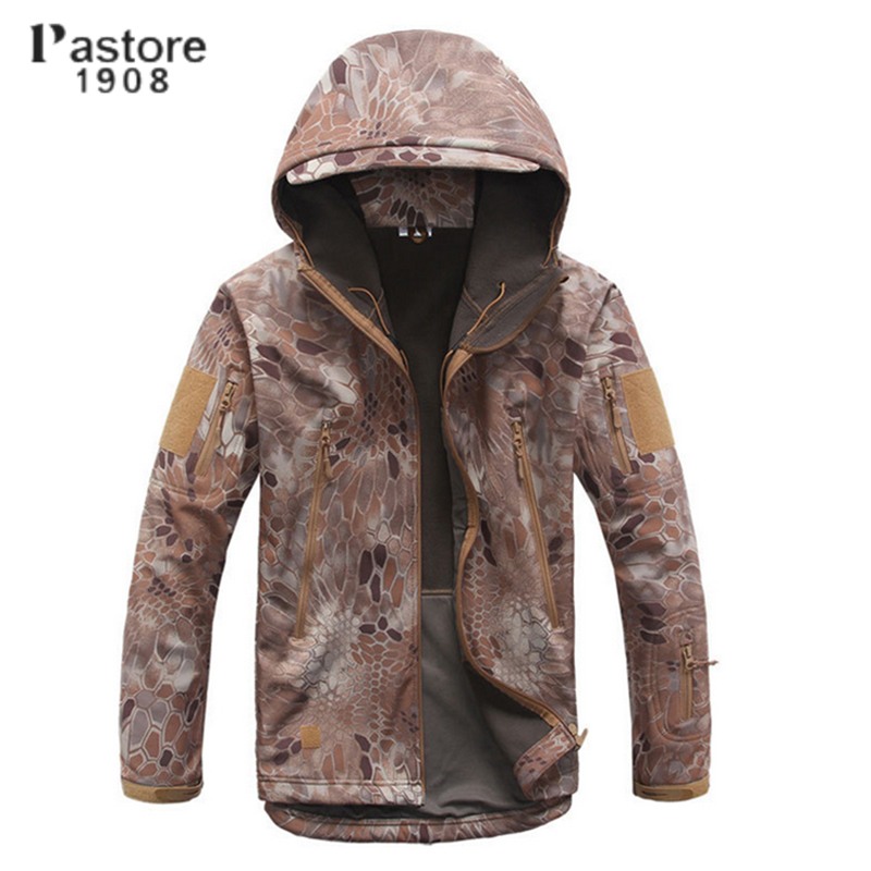 Pastore 1908 new men outdoor hiking fishing hunting jackets waterproof windproof thermal winter camouflage jacket 3 colors new arrived outdoor waterproof windproof jackets men mountain campling hiking fishing running sportswear tactical jackets