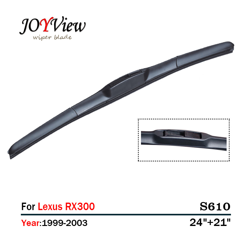 S610 24+21 CAR WIPER BLADE FIT FOR Lexus RX300 (1999-2003),  2 PCS A LOT, HIGH QUALITY WINDSCREEN WINDSHIELD WIPER