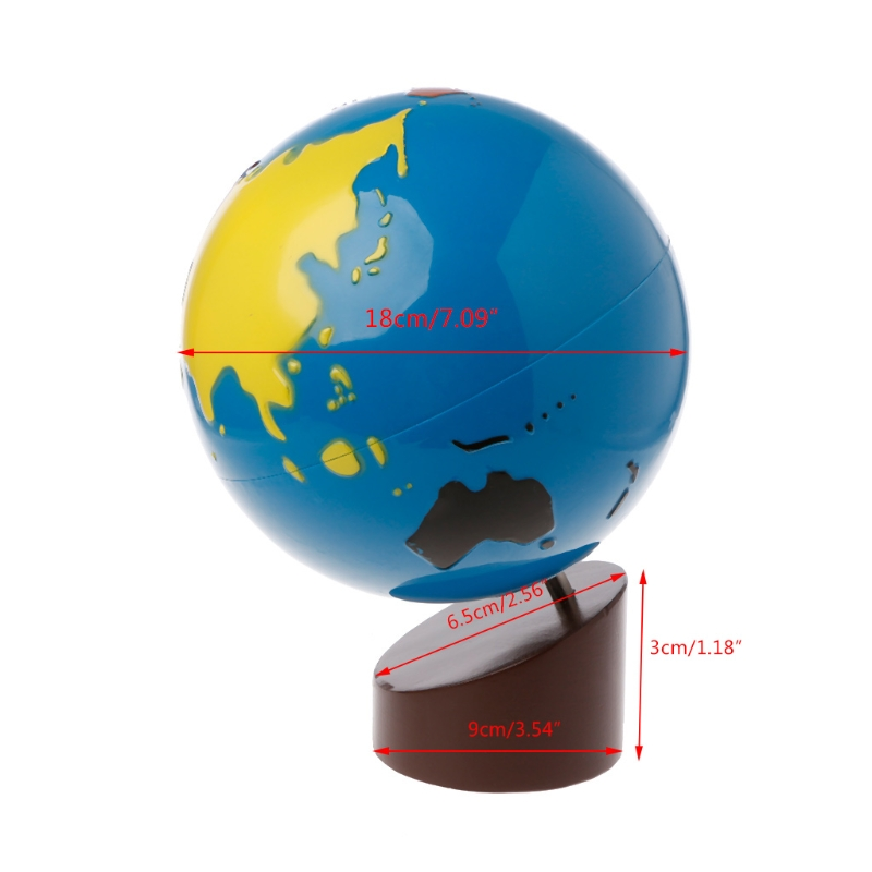 Buy montessori map and get free shipping on aliexpress gumiabroncs Choice Image