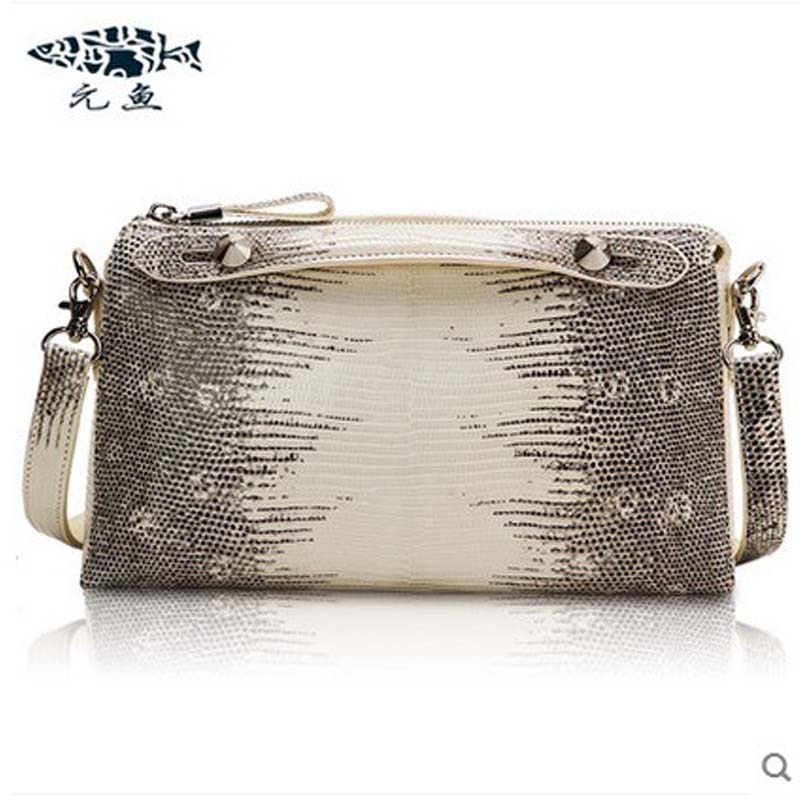 yuanyu 2018 new hot free shipping  lizard skin leather female bag single shoulder bag small square  bag ladies handbag yuanyu 2018 new hot free shipping real thai crocodile women handbag female bag lady one shoulder women bag female bag