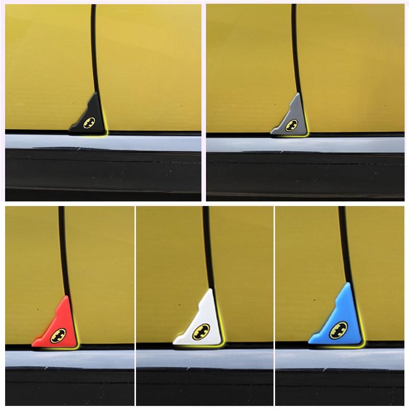 Atreus 2pcs Car Door Corner Protection Cover Stickers For BMW E90 F30 F10 Audi A3 A6 C5 C6 Opel Insignia Alfa Romeo Ssangyong