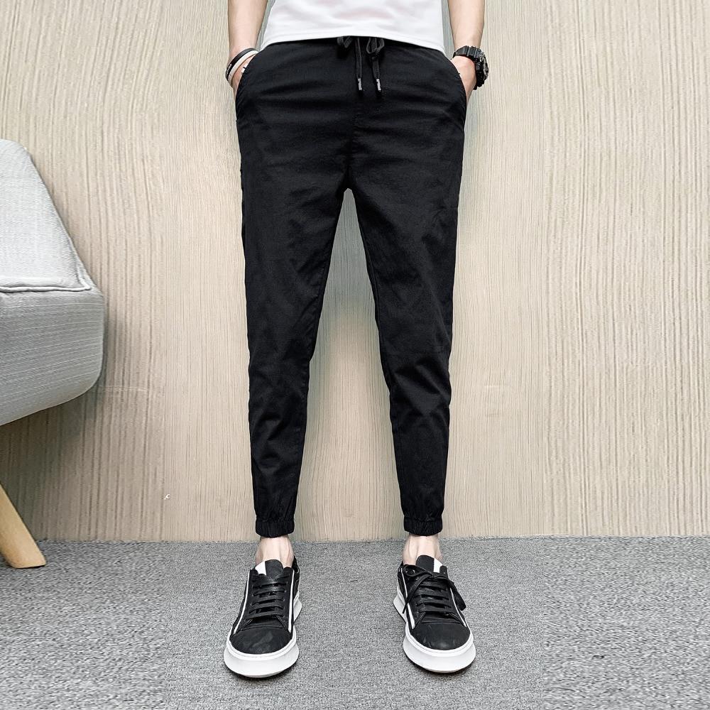 Active Fashion 2019 Summer Men Pants Brand New Slim Fit Streetwear Casual Harem Pants All Match Mens Joggers Hip Hop Pantalones Hombre