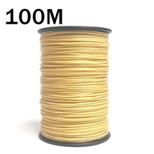 100M 8 Braided aramid fiber flame-retardant fireproof wire Kevlar sewing thread High temperature resistance thread customed size
