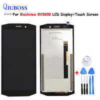 For Blackview BV5800 LCD Display+Touch Screen Digitizer Assembly For Blackview BV 5800 100% Work well