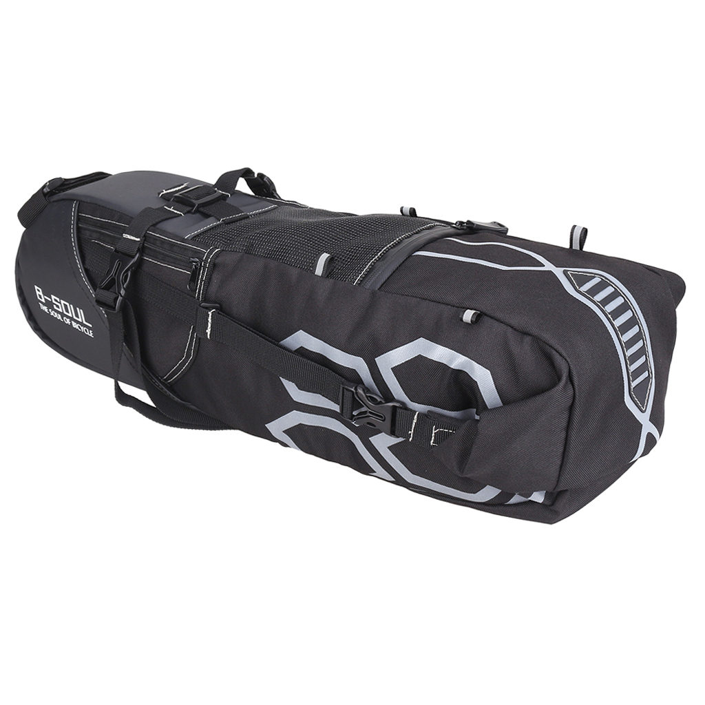 Bike Packs Bicycle Rear Tail Saddle Bags for Mountain Bicycle with 12L Large Capacity