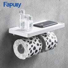 Fapully настенный держатель для туалетной бумаги из нержавеющей