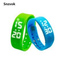 Snzvok многофункциональный w2 3d usb шагомер смарт браслет здоровья сна монитор браслет спорт фитнес-трекер smart watch