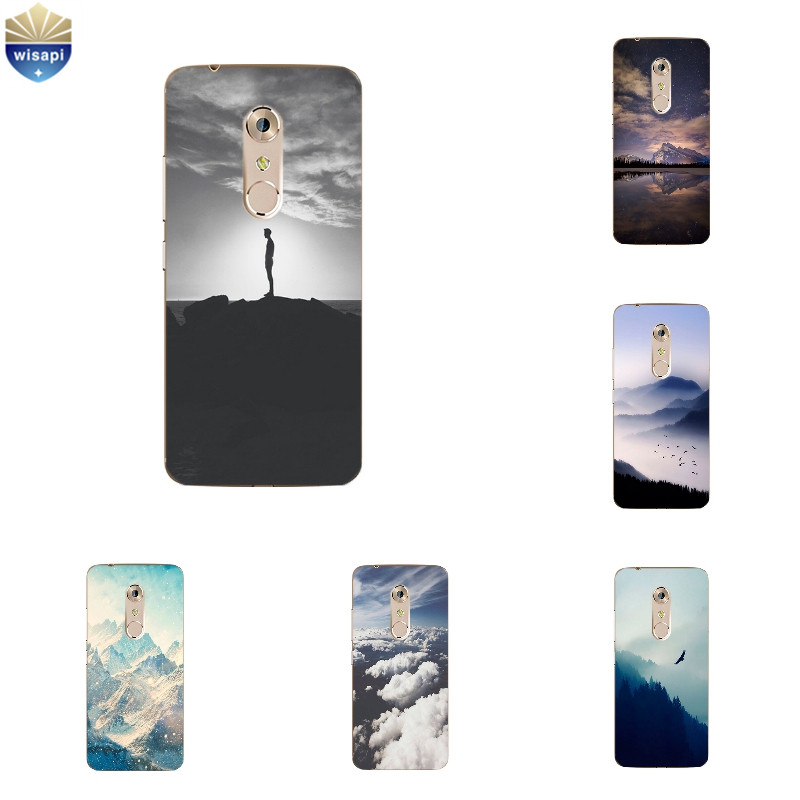 US $1 67 43% OFF For ZTE Nubia Z17 Mini TPU Phone Case for Axon 7 / 7 Mini  Cover Ultra Thin for Nubia Z9 MAX Silicone Shell Snow Pattern-in Phone