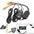 Высокое Качество 2.4 Г Беспроводной RCA Видео Передатчик и Приемник Kit Для Автомобиля Монитор Автомобиля Резервную Камеру Черный Новый