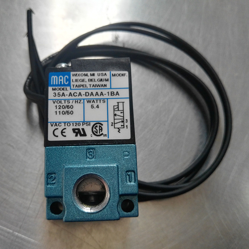 Solenoid Valve 35A-ACA-DAAA-1BA Original High Frequency ValveSolenoid Valve 35A-ACA-DAAA-1BA Original High Frequency Valve