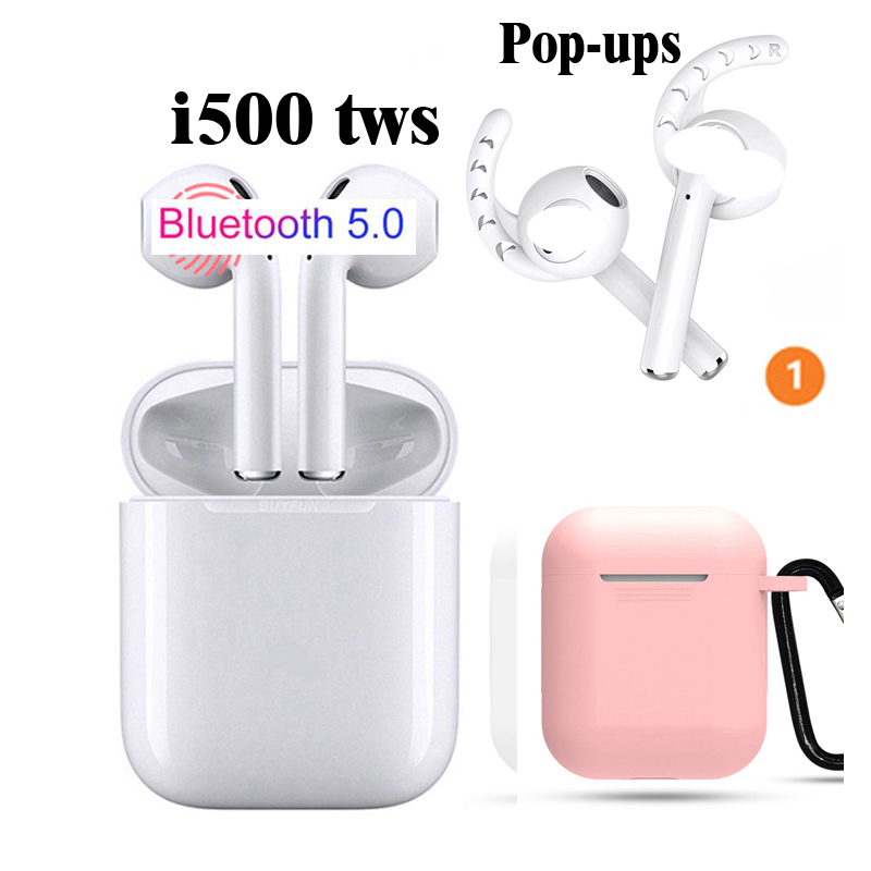 i500 tws i 500 cordless earbuds headset 5.0 touch ba earphone PK i10 i11 i12 tws i16 i17 i18 i19 i20 i30 i40 i50 I80