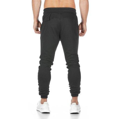 Joggers Sweatpants Mens Slim Casual Pants Solid Color Gyms Workout Cotton Sportswear Autumn Male Fitness Crossfit Track Pants Multan