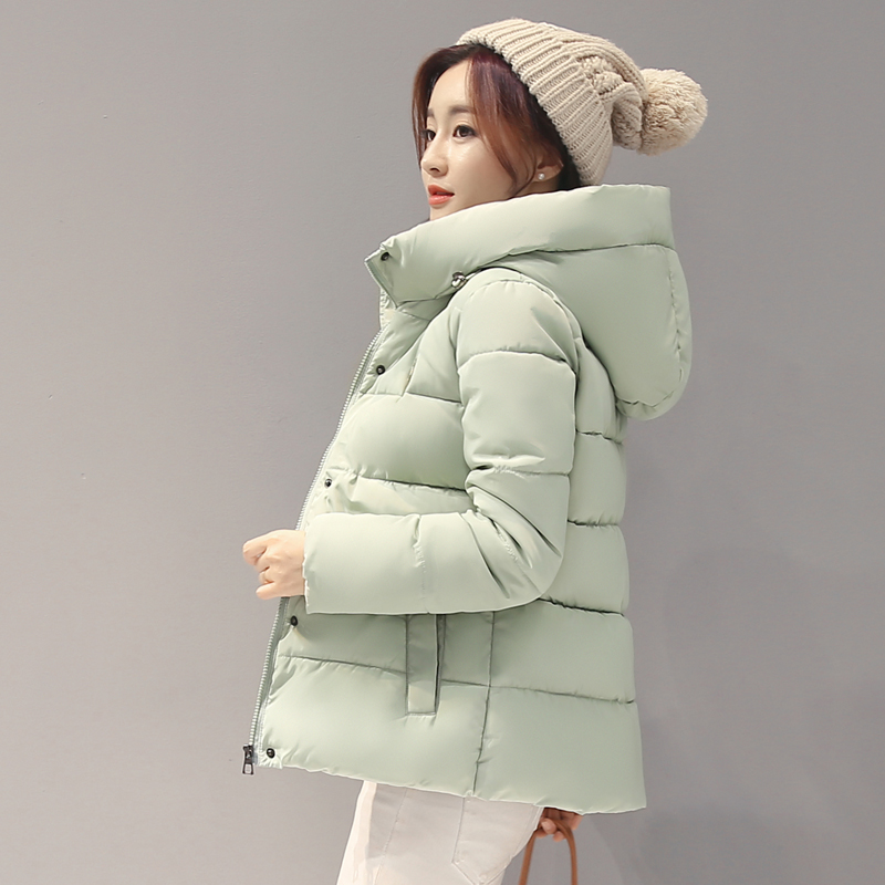 2017 Real New Full Standard Womens Winter Jackets And Coats Winter Women Cotton Jacket Hooded Outwear Female Parka Padded Coat