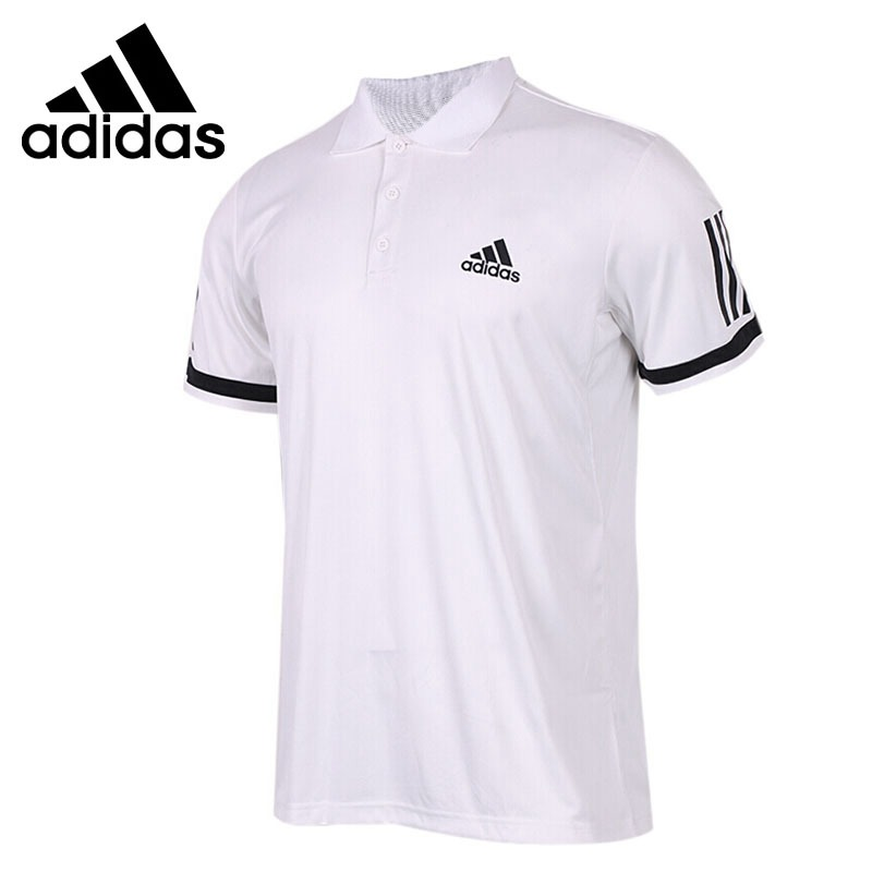 Original New Arrival Adidas Performance CLUB 3STR Men s exercise POLO short sleeve Sportswear