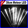30CM Meteor Shower Wedding Party Garden Holiday New Year Fairy String Outdoor Decoration Garland LED Christmas Light CN C-27