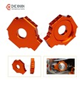 One Pair Motorcycle CNC Rear Axle Spindle Chain Adjuster Blocks  for KTM DUKE 125/200/390 High Quality