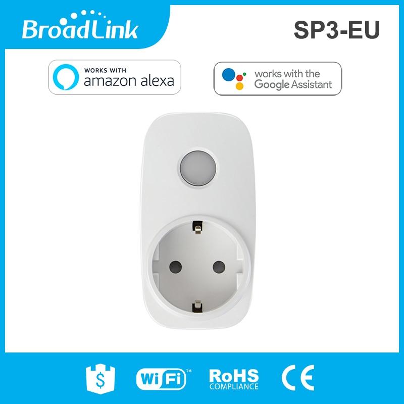 Smarte Fernbedienung Broadlink Sp3 Eu/contros Smart Wireless Wifi Buchse 16a 3500 W Remote Power Supply Stecker Ios Android Fernbedienung AusgewäHltes Material Unterhaltungselektronik