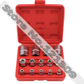 "Torx / Star Female Sockets 14pc Set 1/4"" dr 3/8"" dr and 1/2"" dr E Socket"