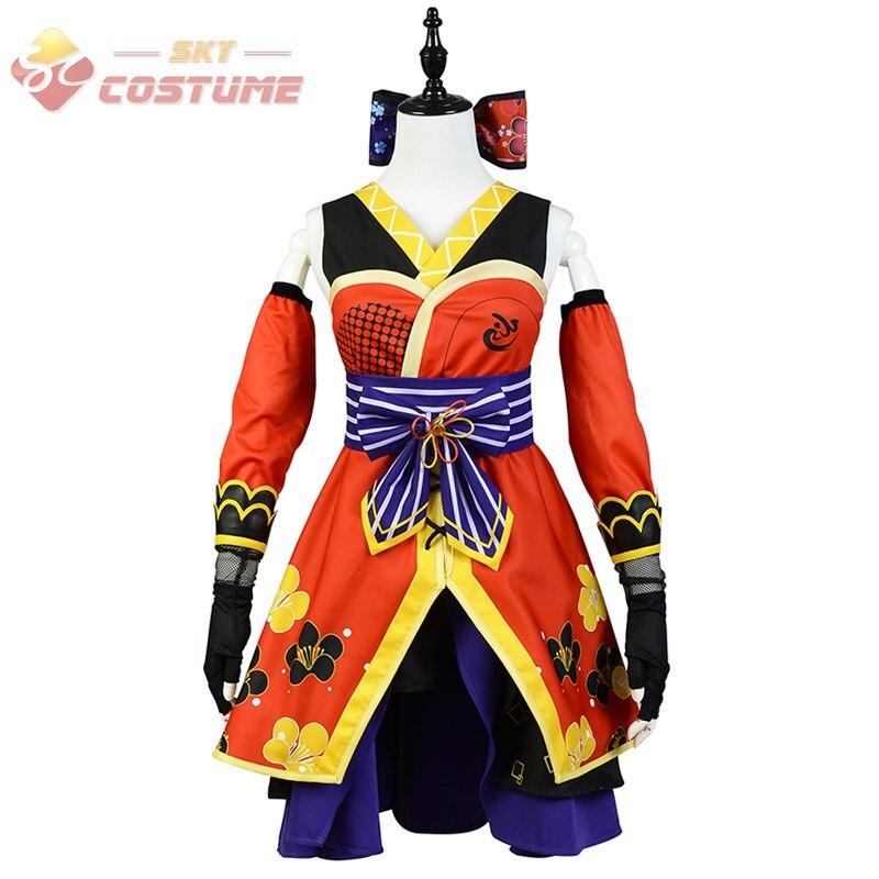 Honoka Kousaka del sistema completo de Halloween Cosplay trajes para mujeres nuevo(China
