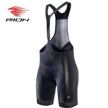 RION Велоспорт MTB нагрудник шорты колготки женские летние лайкра черный Джерси гелевая подкладка команда Pro дорожный велосипед горный велосипед одежда