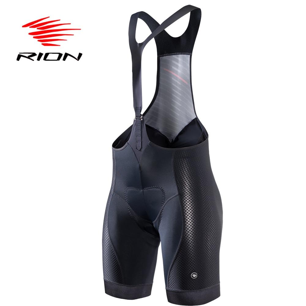 Rion Fietsen Mtb Bib Shorts Panty Vrouwen Zomer Lycra Black Jersey Gel Padded Team Pro Racefiets Downhill Mountainbike kleding