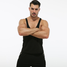 Gym Undershirt Men Cotton Tank Tops Sleeveless Stringer Bodybuilding Singlet Fitness Muscle Shirt Male Vest цена