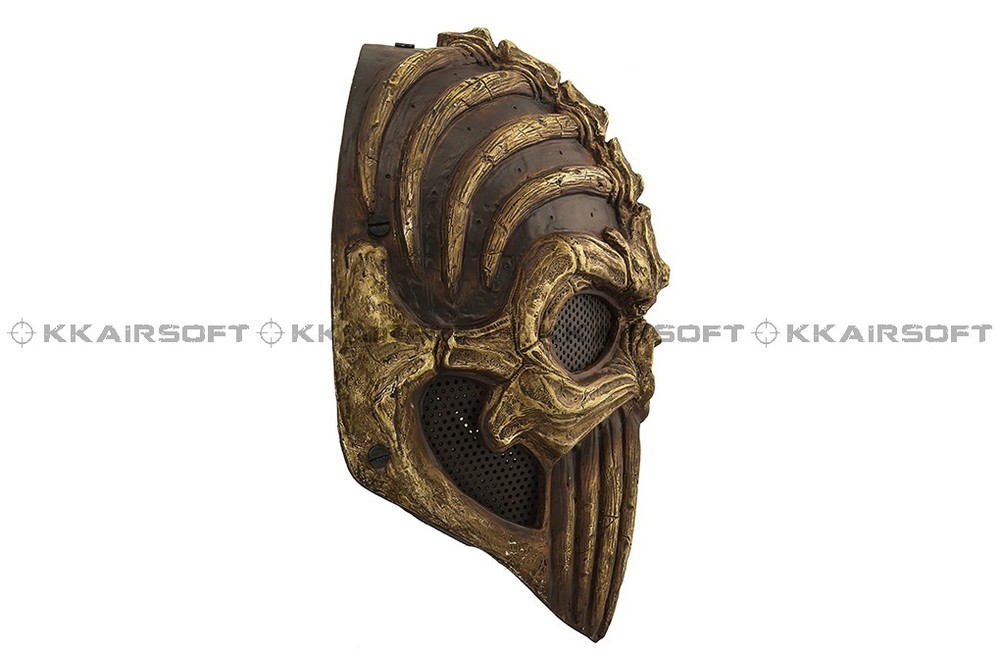 Paintball Party Mask Airsoft Wire Mesh Spine Tingler Punisher Full Face Mask Bd8866