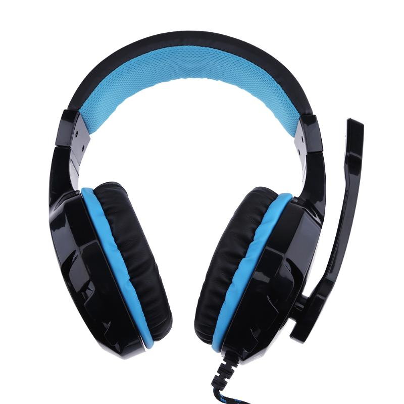 3.5mm Jack Wired Professional Gaming Headset Stereo Video Games Earphone Headphone with Microphone for Computer Gamer wired headphones earphone gaming headset foldable headphone with microphone stereo headset gamer for computer iphone xiaomi sony