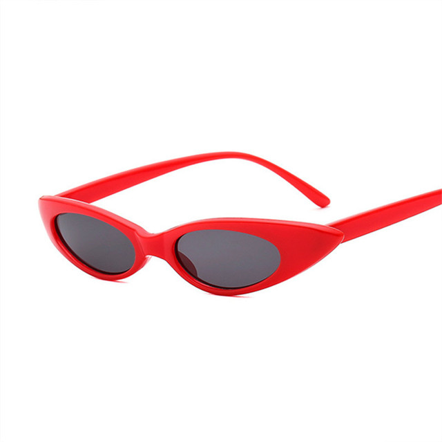 a3333de77b7 NYWOOH Cat Eye Sunglasses Women 90s Oval Sun Glasses Female Small Frame Retro  Brand Design Eyewear